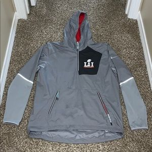 Nike Super Bowl LI Pullover Windbreaker
